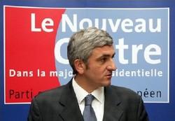 Hervé Morin rêve d'une société au centre