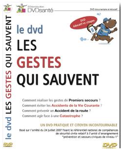 LE NOUVEAU DVD DES GESTES QUI SAUVENT