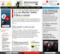 """Mediapart : le parquet de Paris ouvre une enquête pour """"publication de fausses nouvelles"""""""