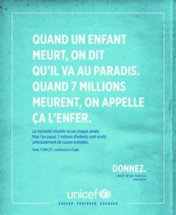 Une campagne de communication pour mobiliser et refuser ensemble la mort  évitable de 7 millions d'enfants