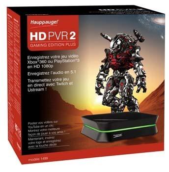 Le HD PVR 2 Gaming Edition de Hauppauge revient dans une édition « Plus »