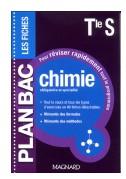 Plan Bac programme de Chimie