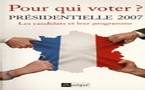 Pour qui voter ?