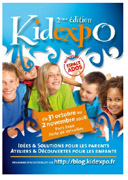 KIDEXPO, le salon des parents et des enfants du 31 octobre au 2 novembre à Paris