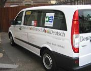 La DeutschMobil poursuit sa route dans la Manche