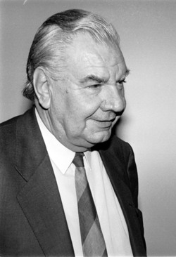 Disparition de René Monory, ancien président du Sénat :