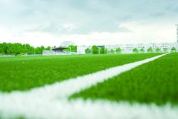 Inauguration du terrain de football synthétique à Ermont