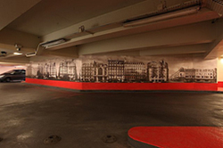 La SAEMES, 2e opérateur de stationnement à Paris offre au public une expérience artistique originale