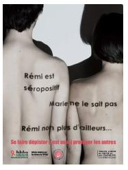 La Ville de Paris lance une nouvelle campagne de sensibilisation contre le sida