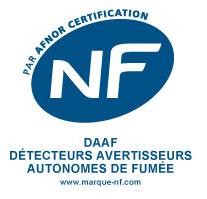 Détecteurs avertisseurs autonomes de fumées obligatoires: la marque NF certifie leur fiabilité