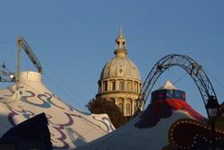 Le cirque dans la ville