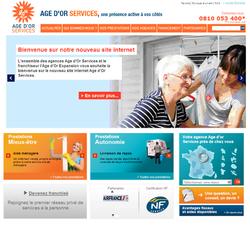 Age d'Or Services lance son nouveau site internet