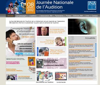 www.journee-audition.org 1er site de référence dans le domaine de l'audition