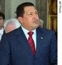 Chavez veut aider les pauvres d'Europe