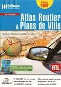 Atlas routier et Plans de Ville 2007