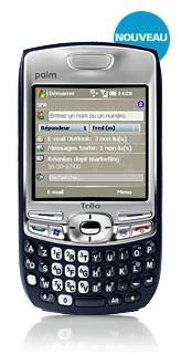 Palm, SFR et Microsoft  s'unissent pour lancer un nouveau Smartphone Le Treo 750v
