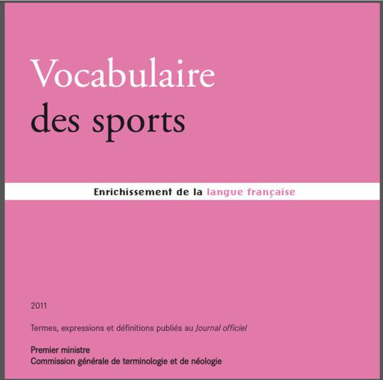 Découvrez le vocabulaire consacré au Sport