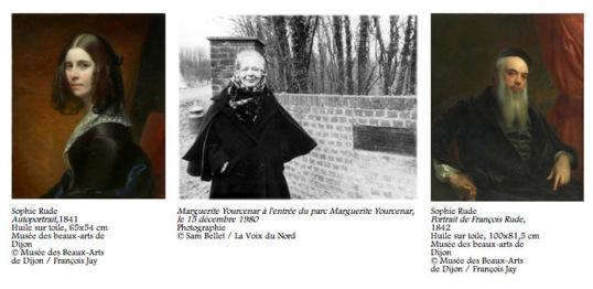 Octobre 2012 - Janvier 2013 : deux expositions évènement à Dijon : François et Sophie Rude / Marguerite Yourcenar et la peinture flamande