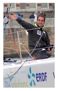 ERDF félicite Damien Seguin, nouveau porte drapeau et Capitaine de l'équipe de France Paralympique !