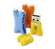 Une Mini Clé USB résolument fun