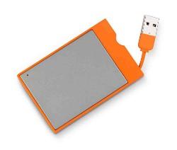 LaCie décline sa fameuse clé USB orange en noir !