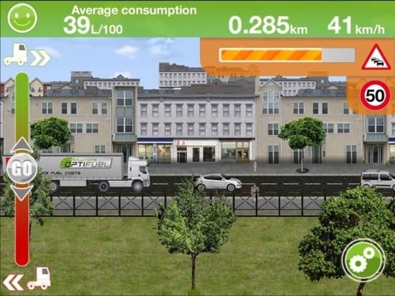 Une application pour appréhender l'eco-conduite d'un camion