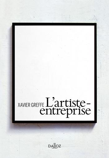 Vient de paraître : L'artiste-entreprise