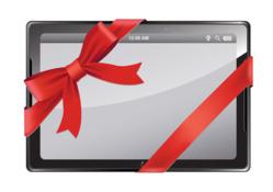 Une tablette tactile pour Noël