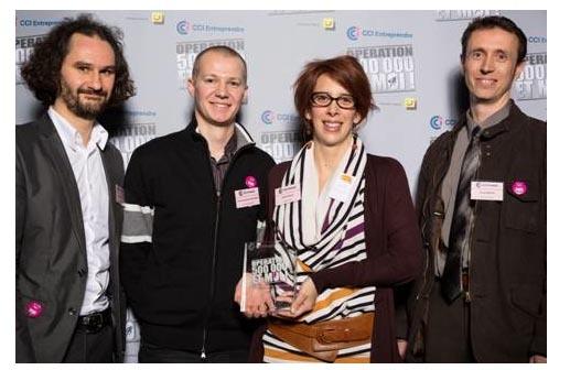 CCI – Entreprendre dévoile les quatre lauréats nationaux de son opération « 500 000 et moi »