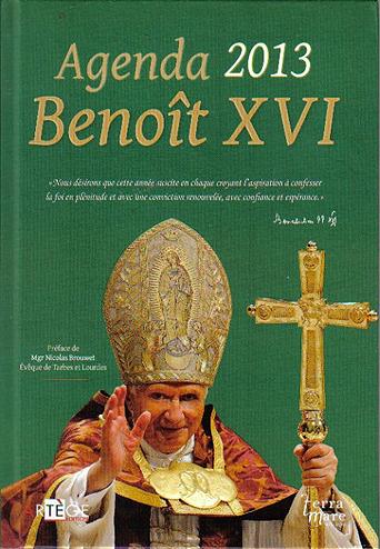 Agenda Benoit XVI 2013