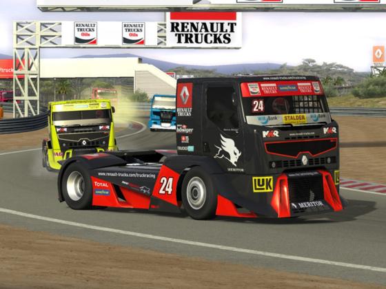 1 million de téléchargements pour le jeu PC Truck Racing by Renault Trucks