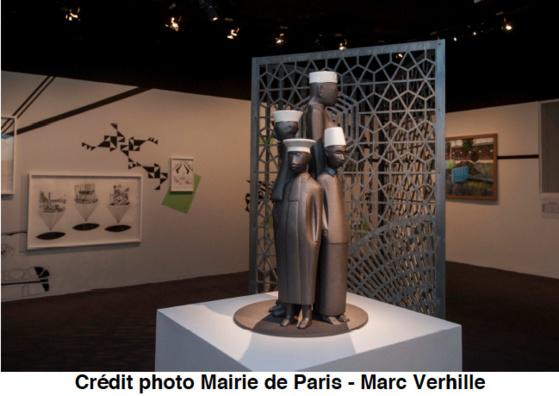 L'exposition «Les artistes et le tramway de Paris» présentée à l'Hôtel de Ville jusqu'au 2 février 2013