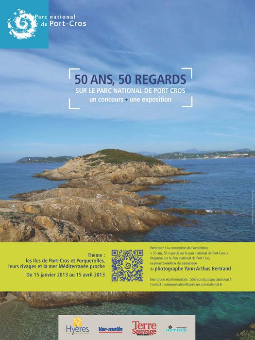« 50 ans, 50 regards sur le parc national de Port-Cros » :  ouverture du défi-photos
