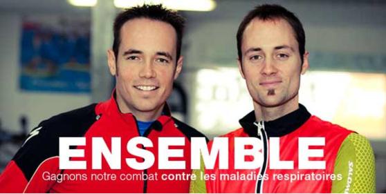 Le 15 janvier 2013, deux sportifs français s'attaqueront à un record du monde d'endurance pour lutter contre les maladies respiratoires