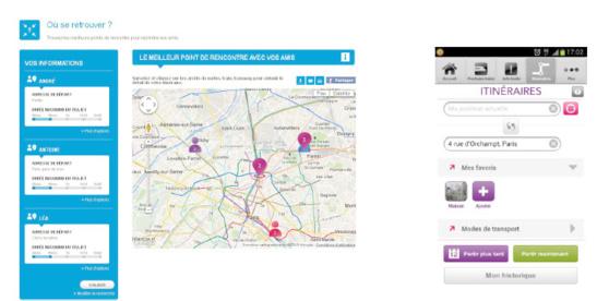 Transports en Ile-de-France : l'appli Transilien (1 million de téléchargements) intègre désormais le Vélib' dans la recherche d'itinéraires