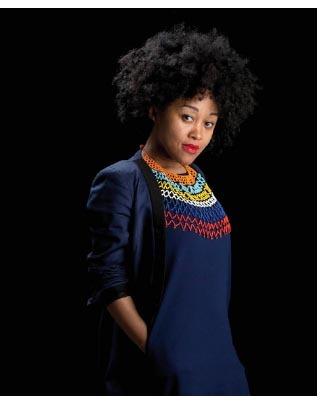 ECO-SYSTEME DE LA MODE une exposition de la styliste Sakina M'Sa à l'Observatoire du BHV à Paris