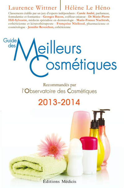 Le « Guide des Meilleurs Cosmétiques 2013-2014 »