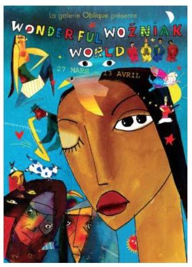 Paris : la Galerie Oblique présente WONDERFULL WOZNIAK WORLD
