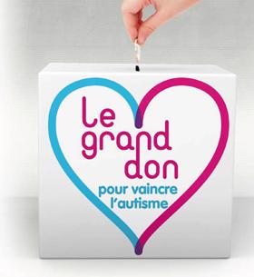 """Autisme : lancement de la campagne """"Le grand don"""""""