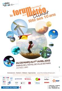 28 mars-1er avril 2013 : le Forum International de la Météo et du Climat fête ses 10 ans