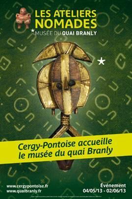 Le musée du quai Branly lance les « Ateliers nomades »à Cergy-Pontoise