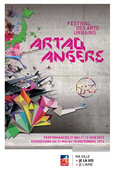 Festival des arts urbains Artaq d'Angers du 31 mai au 2 juin 2013