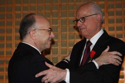 Alain Lambert Officier de la légion d'honneur