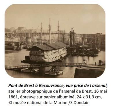 Arsenal de Brest : photographies & territoires, 1860 - 1914