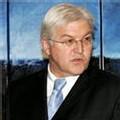 Le ministre des Affaires étrangères allemand, Frank Walter Steinmeier, à Bruxelles le 22 janvier 2007