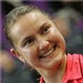 La Russe Nadia Petrova, gagnante de l'Open de Paris le 11 février 2007
