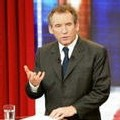 """François Bayrou lors de l'émisssion de Patrick Poivre-d'Arvor (sur TF1) """"J'ai une question à vous poser"""", le 26 février 2007"""
