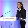 Ségolène Royal à la maison de la Chimie à Paris, le 3 mars 2007