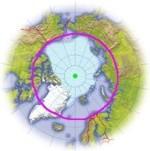 La région disputée du pôle nord