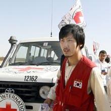 Un otage Sud-Coréen après sa libération (AFP)